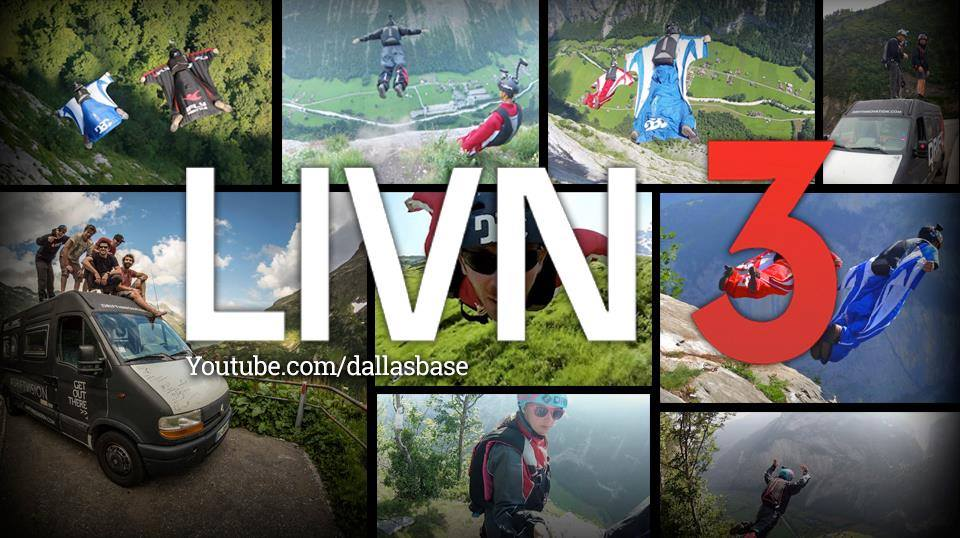 Livn 3 BASE Jumping Dallas BASE Crew DBC